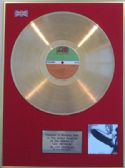 "LED ZEPPELIN -  LP 24 Carat Gold Disc - ""LED ZEPPELIN"